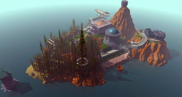 Primera imagen (súper representativa) del Myst